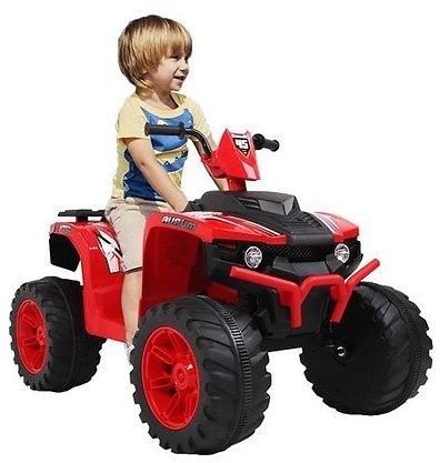 LEADZM LZ-9955 All Terrain Vehicle Dual Drive Battery 12V7AH*1 with Slow Start - Red
