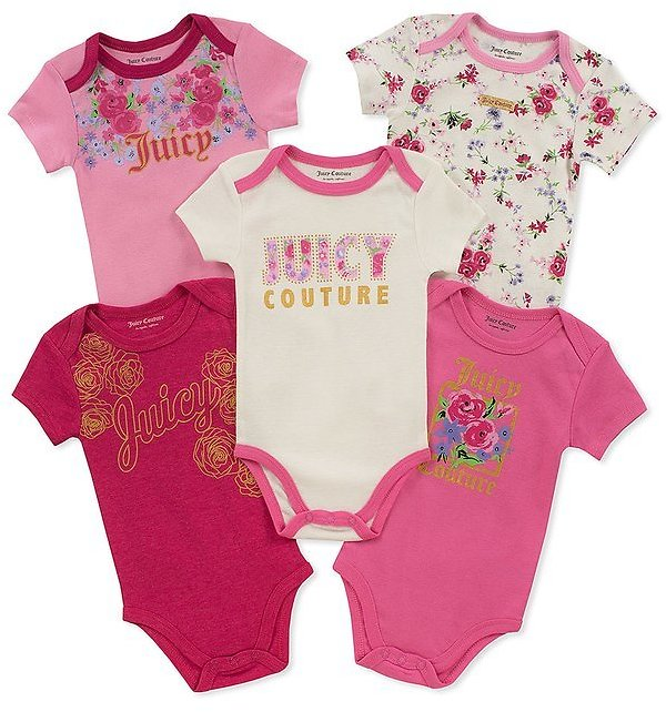 Pink 'Juicy' Bodysuit Set - Infant