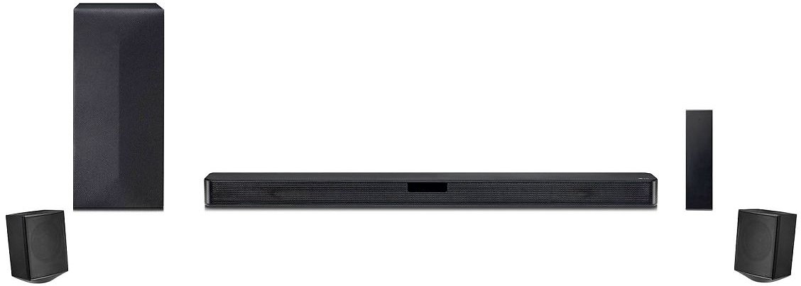 LG SNC4R 4.1 Channel Sound Bar with Rear Surround Speakers