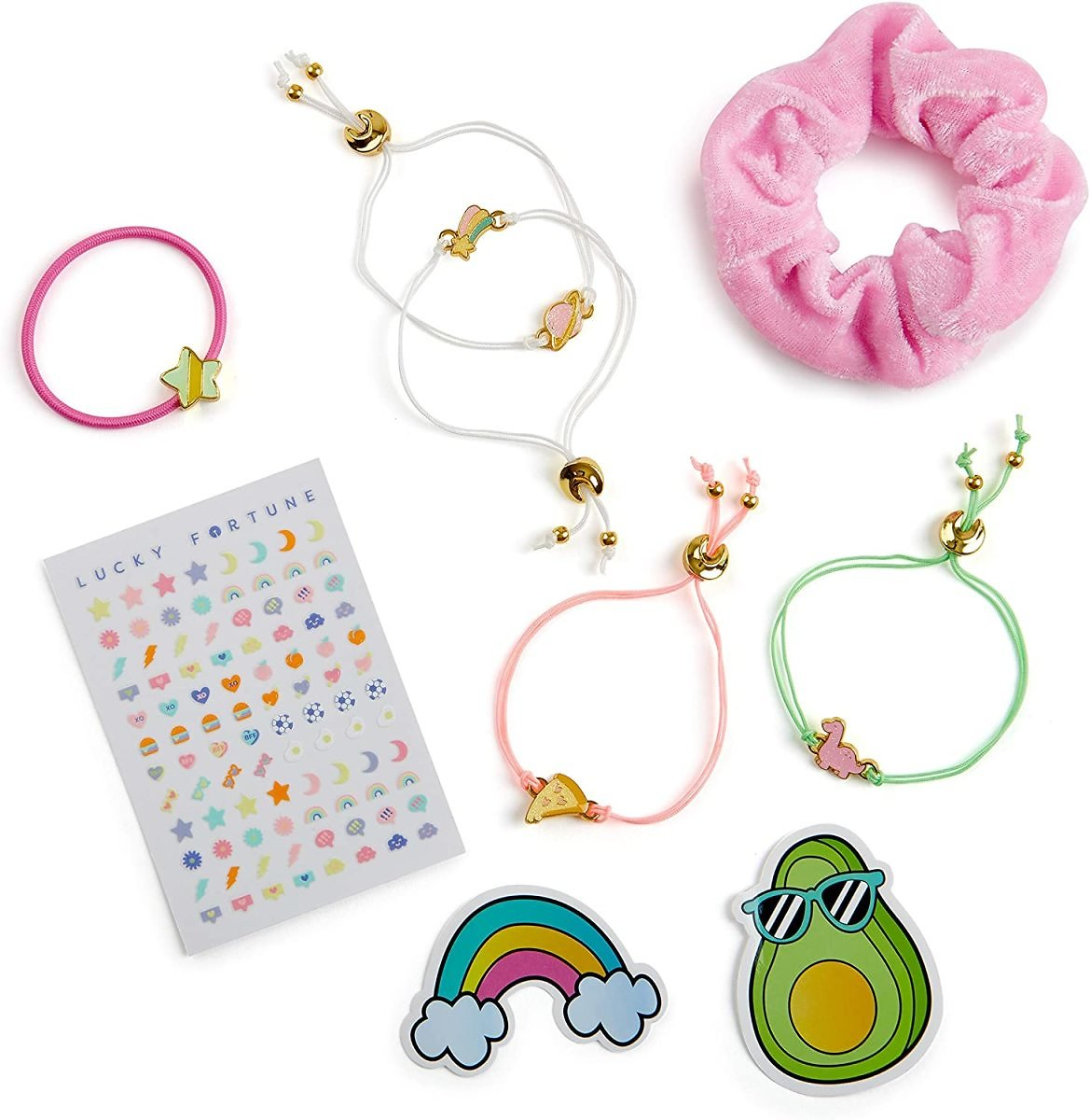 WowWee Lucky Fortune Magic Series - Color Change Elastic Bracelet and Accessories - Lucky Bundle