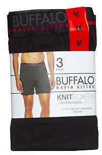 3-Pack, Buffalo Men's Boxer