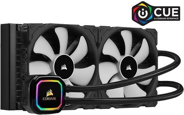 CORSAIR ICUE H115i RGB PRO XT, Liquid CPU Cooler - Newegg.com