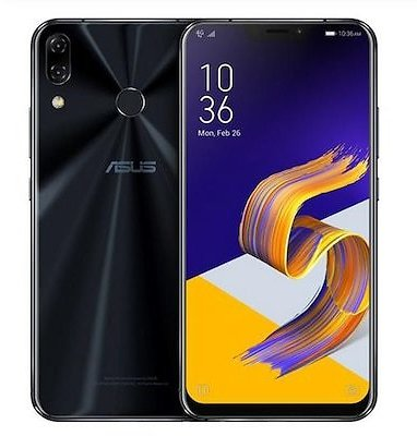 Global Version ASUS Zenfone 5 ZE620KL Mobile Phone 6.2 Inch Android 8.0 12MP 8MP 3300mAh - Black 4GB 64GB France