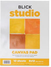 Blick Studio Canvas Pads | BLICK Art Materials