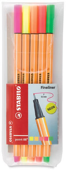 Stabilo Point 88 Fineliner Pens and Sets | BLICK Art Materials