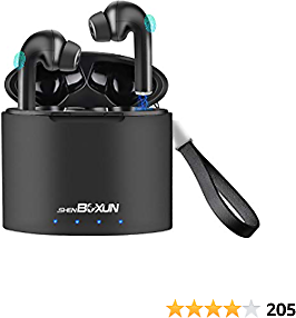 Bluetooth Earbuds Wireless Earphones Sport Wireless Earbuds with Charging Case TWS Deep Bass Stereo Headset Built-in Mic 30 Hours Cyclic Playtime
