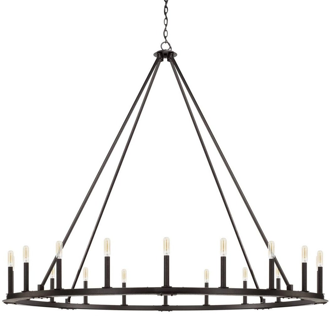 Pearson 60 Inch 20 Light Chandelier By Capital Lighting Fixture Company