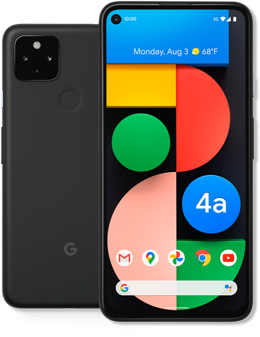 Google Pixel 4a (5G) with Fi