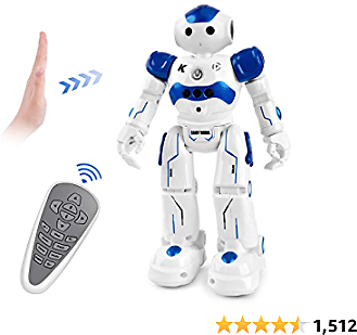 Amazon : RC Robot Toys,Smart Infrared Remote Control Robot for Kids Birthday Gift Boy (Blue) For $23.99 ($29.99) + Prime Shippin