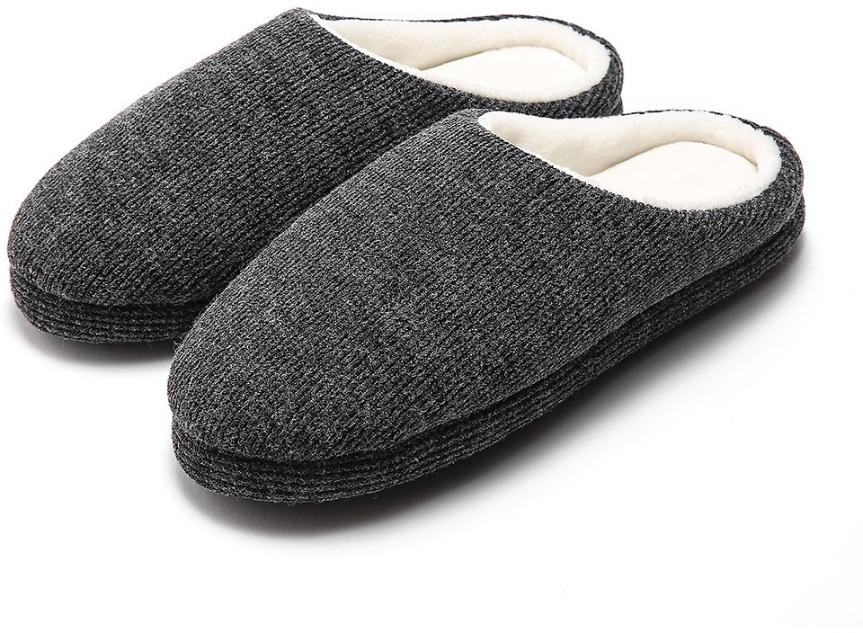 Save 55% On Slippers for Men Warm Memory Foam House Winter