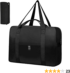VBG VBIGER Travel Duffle Bag Foldable Sport Duffle Nylon Luggage Bag Duffle Tote Bag 35L with Pockets for for Weekend Overnight Trip (35L)