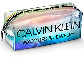 Free Calvin Klein Holographic Pouch with The Purchase of Any Calvin Klein Watch or Any Two Pieces of Calvin Klein Jewelry! Offer Applies At Checkout. Offer Valid 1/21/21-12/31/21