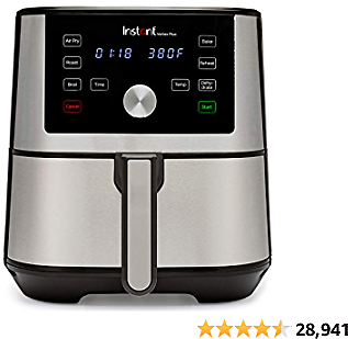 Instant Vortex Plus Air Fryer 6 in 1, Best Fries Ever, Dehydrator