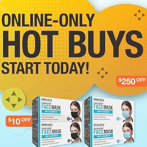 Online-Only Hot Buys Now Live!