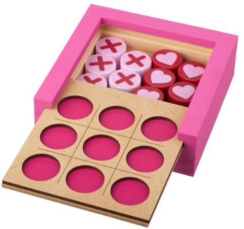 Valentine's Tic-Tac-Toe Kit Pack
