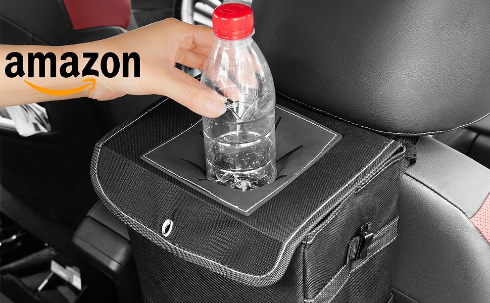 Take 52% Off On Car Trash Can with Promo Code 52MLK8HF
