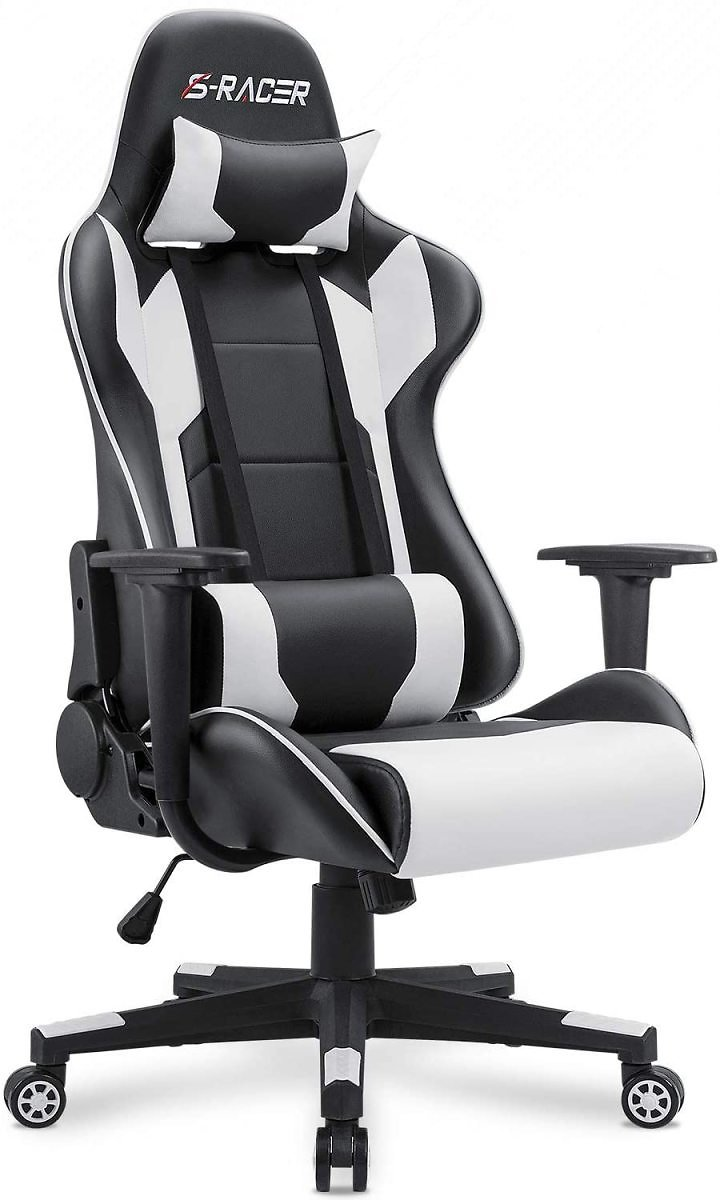 Homall Gaming Chair Office Chair High Back Computer Chair Leather Desk