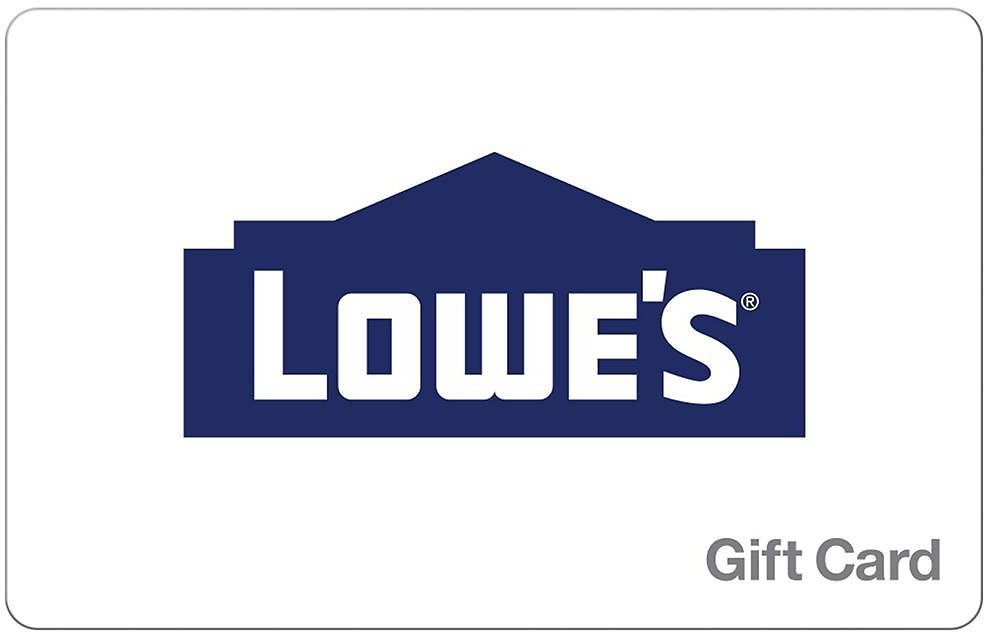 10% Off Lowe's Gift Card (In-Store)