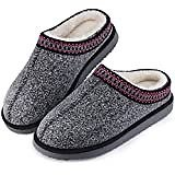 Amazon.com   Homitem Women's Cozy Memory Foam Chenille Slippers with Memory Foam, Ladies'Fuzzy Fleece Lining Slip On House Slipper Shoes with Anti-Skid Rubber Sole Indoor Outdoor Shoes(5-6 S US, Purple   Slippers