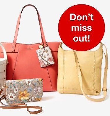 40-60% Off All Handbags & Wallets + Extra 20% Off Select Styles - Macy's