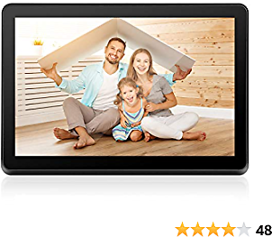 Digital Picture Frame 8 Inch WiFi Electronic Photo Frame IPS Touch Screen HD Display, Share Moments Instantly IOS and Android App or E-Mail, Built-in 8G Memory
