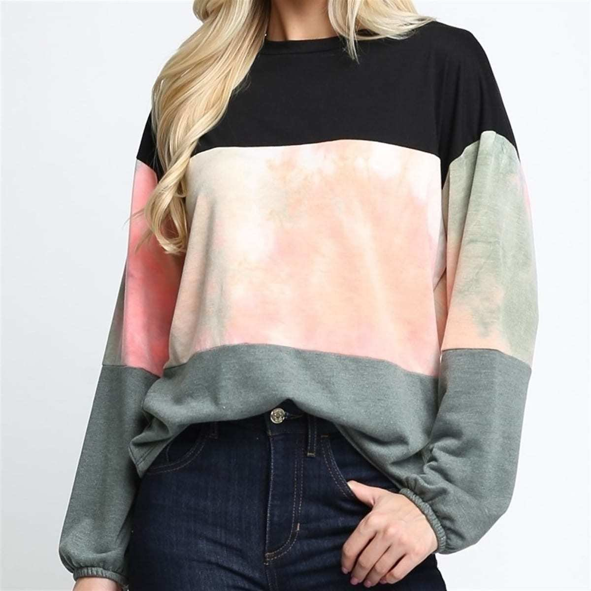 Color Blocked Top Collection