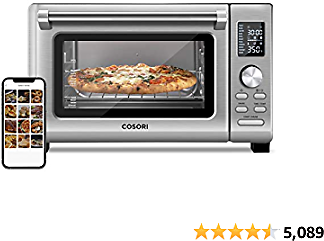 12% OFF COSORI Air Fryer Toaster Oven Combo, 11-in-1 Countertop Dehydrator for Chicken