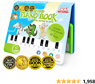 Amazon : My First Piano Book - Educational Musical Toy for Toddlers For $17.83($24.99) + Prime Shipping