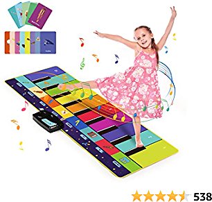 Amazon : Kids Piano Mat, Musical Toys with 100 Plus Melodies For $18.69($24.99) + Prime Shipping