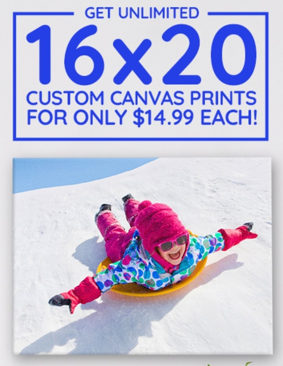Today Only! UNLIMITED 16x20'S FOR ONLY $14.99!