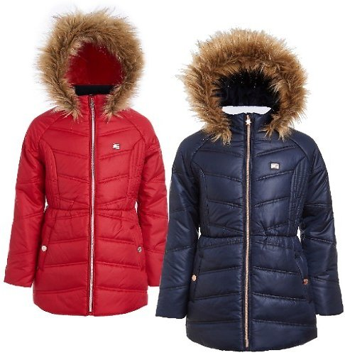 Tommy Hilfiger Girls Puffer Jacket (3 Colors)