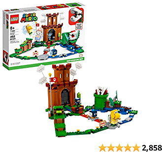 LEGO Super Mario Guarded Fortress Expansion Set 71362 Building Kit; Collectible Playset to Combine with The Super Mario