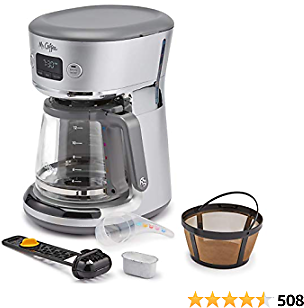 Mr. Coffee 31160392 Easy Measure 12 Cup Programmable Coffee Maker