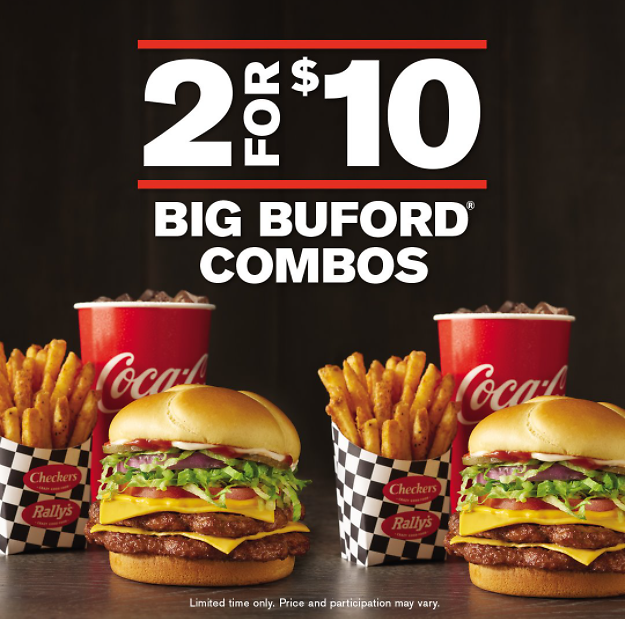2 for $10 Big Buford Combos