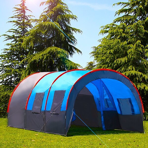 Waterproof Double Layer Oxford Cloth Portable Outdoor 10 Person Tent