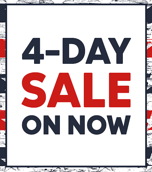 FACTORY STORES: 4-Day Sale Starts Now!