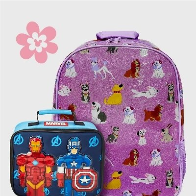 $18 & Up Kids' Backpacks & $10.40 Lunch Boxes