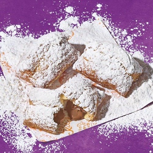 Free 3-Piece Chocolate Beignets