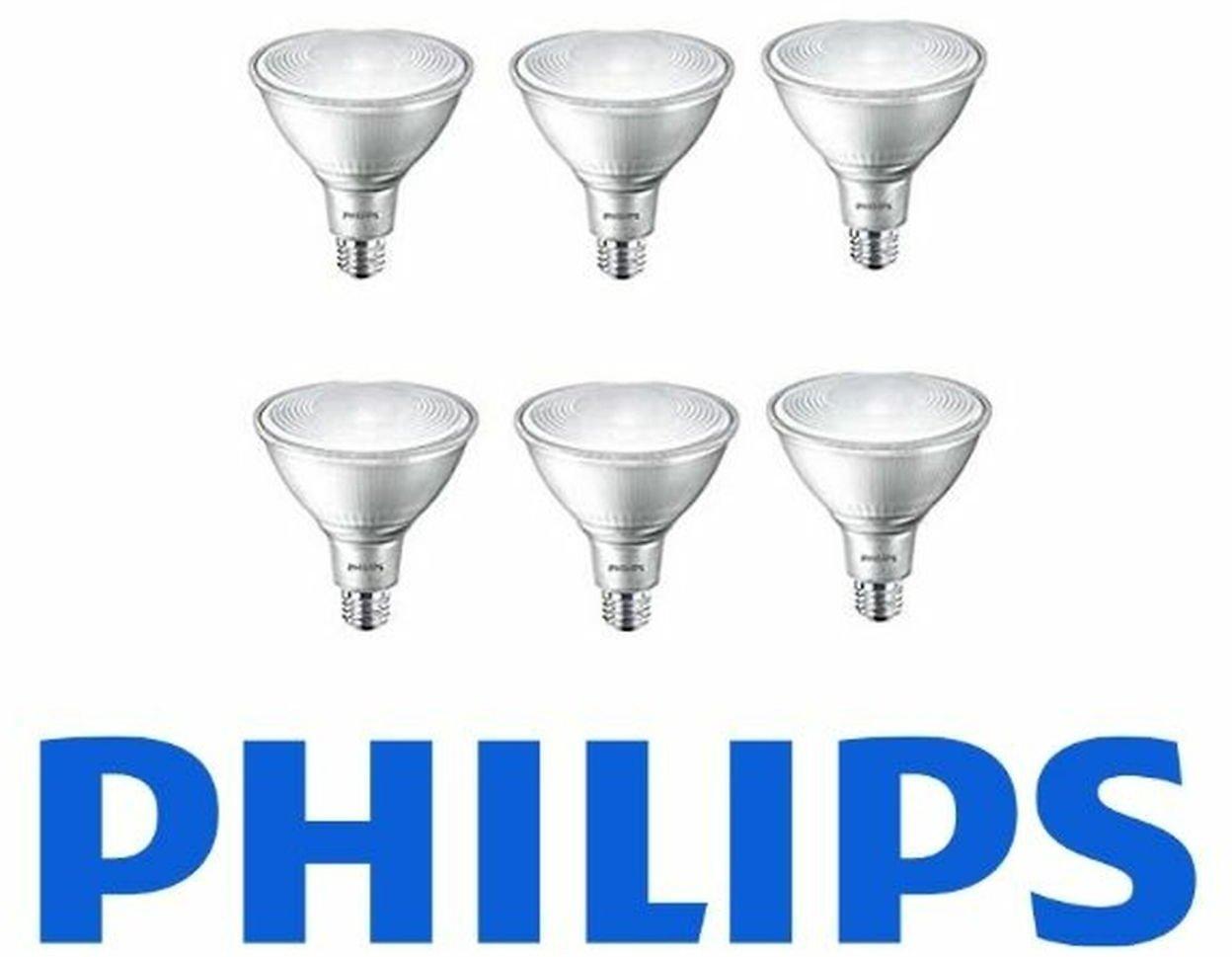 Philips LED Dimmable Flood Light Bulb (6-Pack)