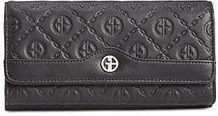 Logo Embossed Receipt Wallet, Created for Macy's