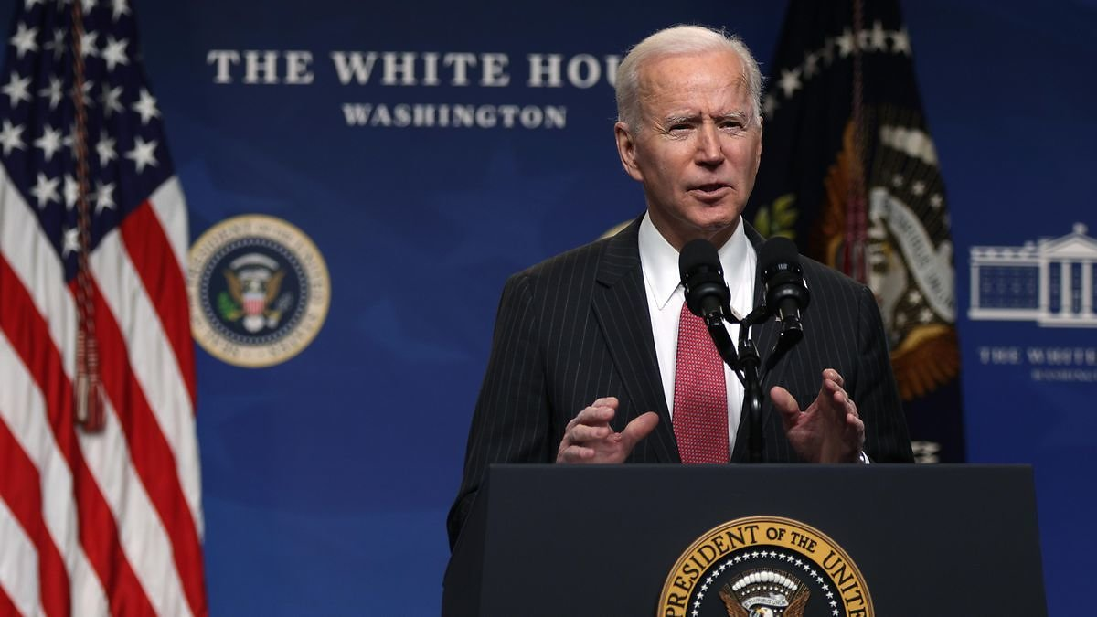 Here's Where $1,400 Stimulus Checks, $15 Minimum Wage And The Rest Of Biden's $1.9 Trillion Rescue Plan Stand Today