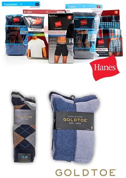 BOGO 50% Off Men's Socks And Underwear