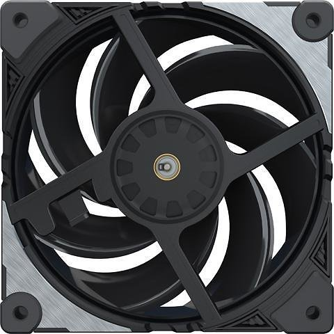 Cooler Master MasterFan SF120M Performance PWM Fan w/ Patented Damping Frame Design Technology, Inter-Connecting Fan Blade, and Anti-Vibration Motor for a Silent Performing Case, CPU Cooler and Liquid Cooler Fan
