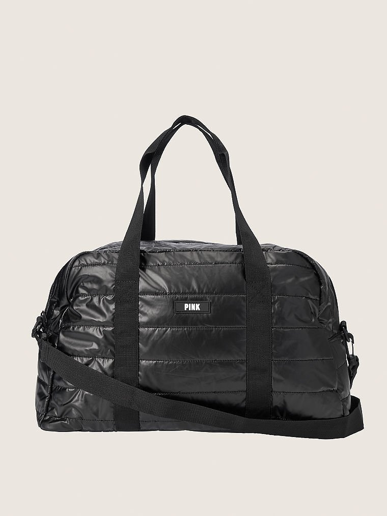 $20.24 VS PINK Quilted Duffle + Free $20 Reward Card