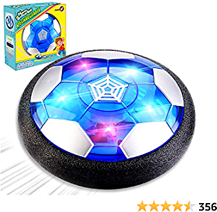 Amazon : Rechargeable Hover Soccer Ball Air Soccer Ball $13.99 + Prime Shipping