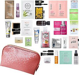 Free Best Sellers 26 Piece Beauty Bag with $70 Purchase (2 Colors)