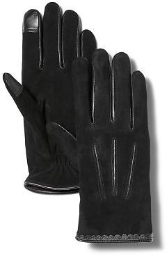 Women's Nubuck Leather Touchscreen Gloves | Timberland US Store