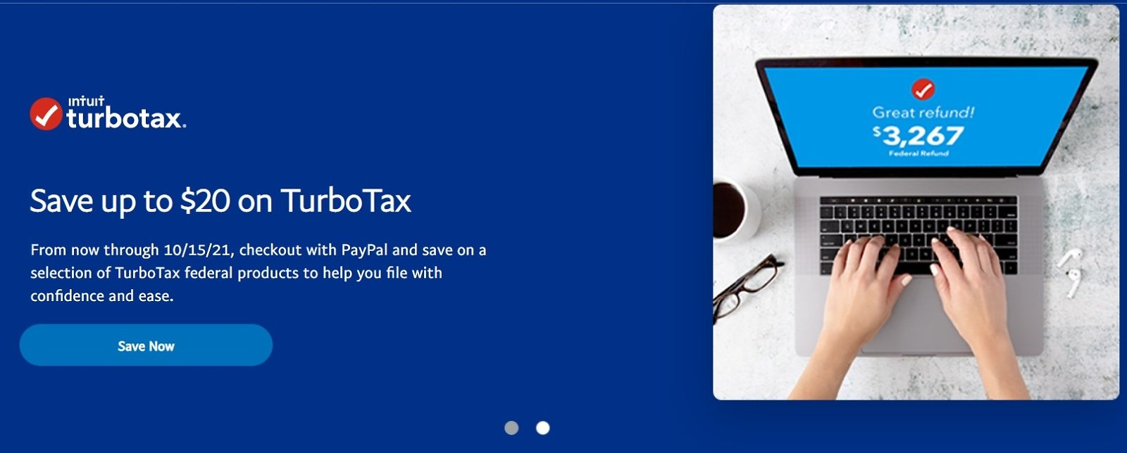 Up to $20 On TurboTax