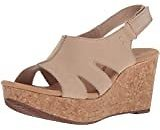 Amazon : Clarks Women's Annadel Ivory Wedge Sandal $32.05+ And Prime Shipping