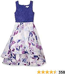 Amazon : Speechless Girls' 7-16 Tween Maxi Dress with Wide Ribbon Hem for Formal Dance Or Party